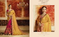Fancy Work Border Sarees