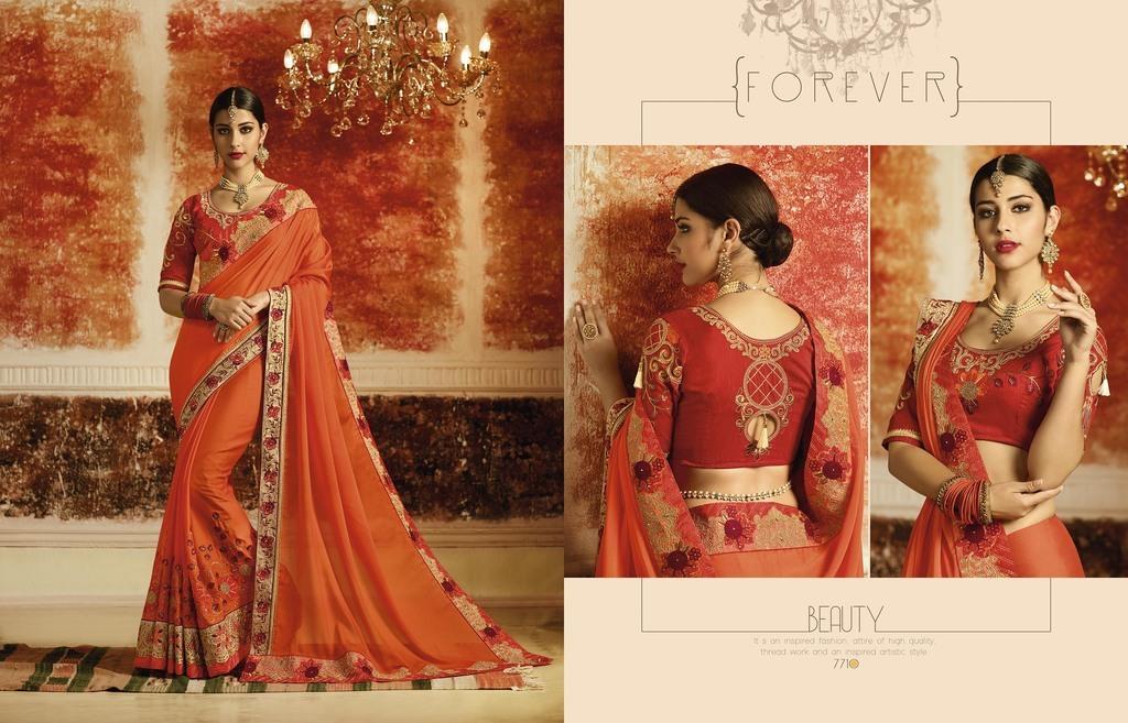 Latest Designer Wedding Sarees