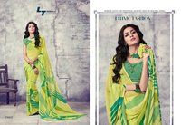 Stylish Georgette Print Sarees