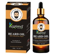 KAZIMA Premium Beard & Mustache Growth Serum 30 ml