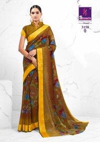 Beautiful Printed Sarees