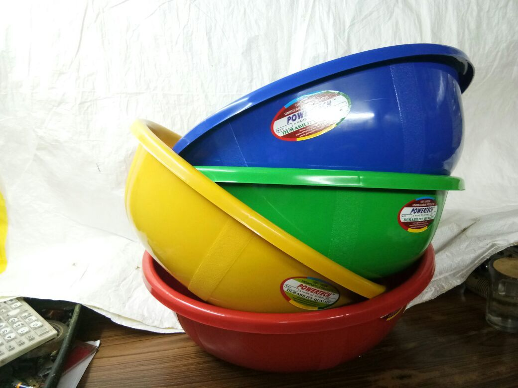Unbreakable Plastic Tub