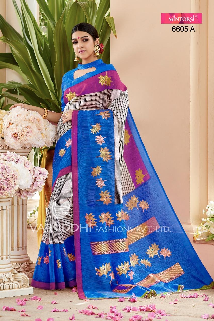 Fancy Bhagalpuri Silk Sarees