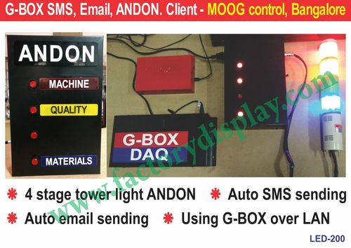 Andon tower