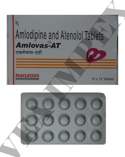 Amlovas at(Amlodipine and atenolol Tablets)