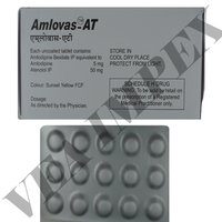 Amlovas at(Amlodipine and atenolol Tablets)