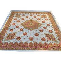 Brown Embroidered Rumala Sahib