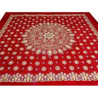 Red Embroidered Rumala Sahib