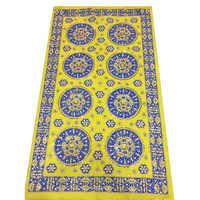 Yellow Embroidered Rumala Sahib