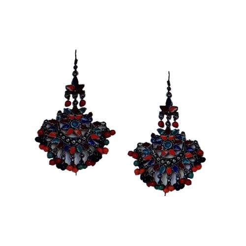 Ladies Droplet Jhumki Earring Set