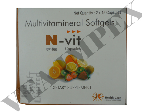N vit(Multivitamineral Softgels)