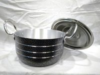 Alluminium Black Coating Stew Pan