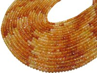 Top Quality Shaded Carnelian Beads Round Faceted beads