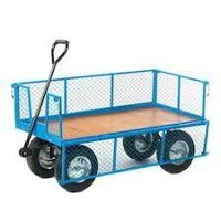 Platform Truck Scooter Wheel & Net Box