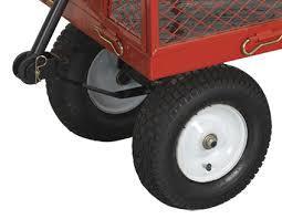 Platform Truck Scooter Wheel & Net Box