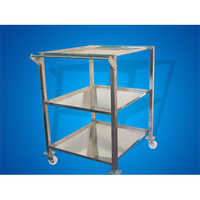 Stainless Steel Trolley Finished Process Area