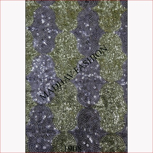 Multi Color All Over Sequin Fabric