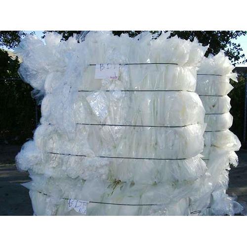 LDPE Film Plastic Scrap Baled