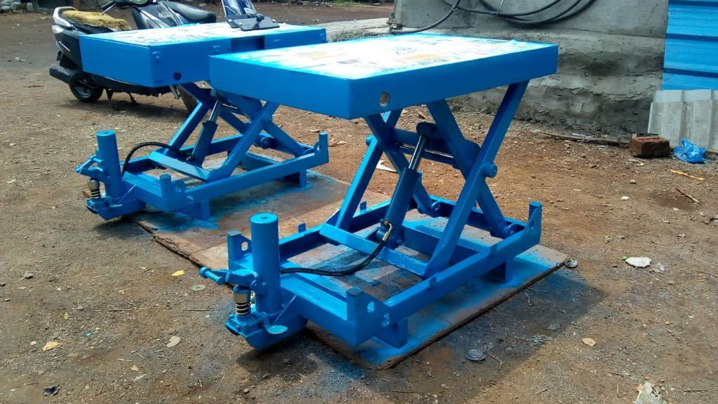 Hydraulic Manual Scissor Lift Table
