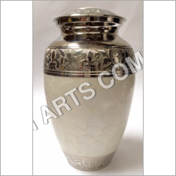 White Pearl Simplicity Urn
