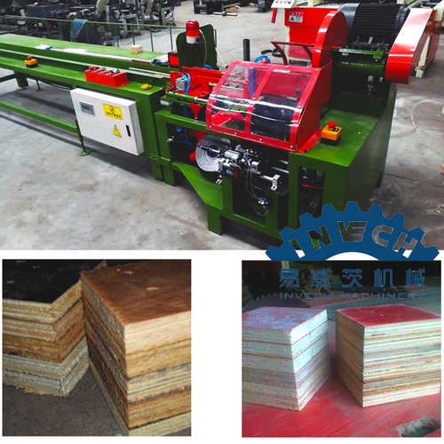 Plywood Block Nailing and Cutting Machine