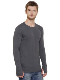 Men's Thumbole Charcoal T-shirt