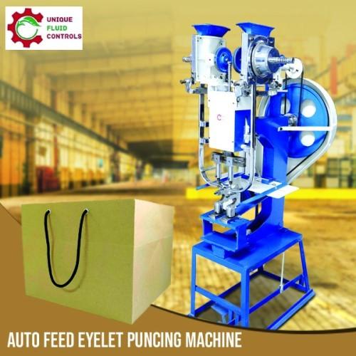 Auto Feed Eyelet Punching Machine