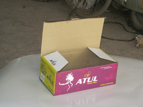 Printed Footwear Corrugated Box