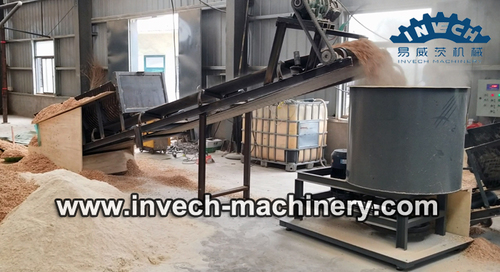 Automatic glue mixing machine