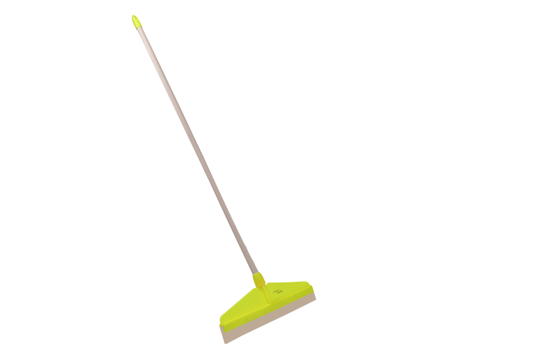 Plastic floor wiper