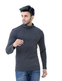 Men's Hi-Neck Full Sleeve T-shirt