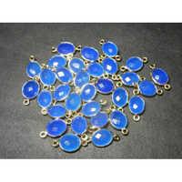 Chalcedony Gemstone Connectors