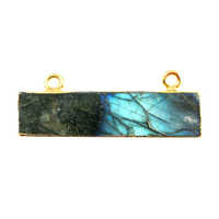 Labradorite Gemstone Connectors