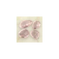 Rose Quartz Rose Cut Gemstones