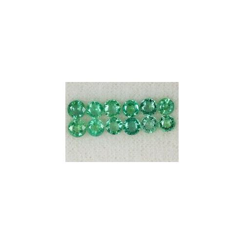 Diamond Cut Emerald Rounds Stone