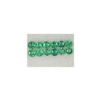 Diamond Cut Emerald Rounds Stone