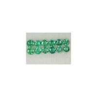 Diamond Cut Emerald Rounds