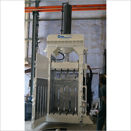 Commercial Hydraulic Baling Press