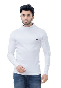 Men's Hi-neck Full T-shirt