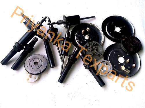 Spindle Assly/ Bolster/ Reserved Disc/ Diflection Plate