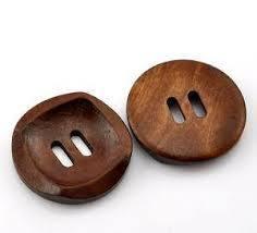 wooden Shirt  button