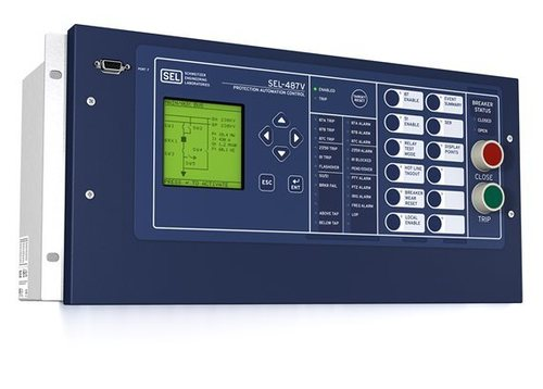 487V Capacitor Protection and Control System