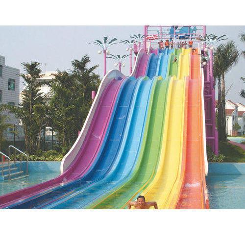 Water Park Family Slide