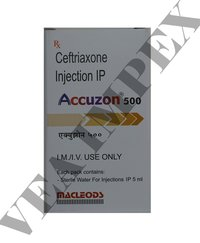 Accuzon 500 mg(Ceftriaxone Injection)