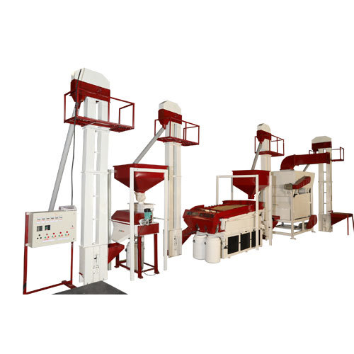 Seed Processing Plant and Machine