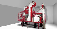 Mobile Seed Grading Processing Plant