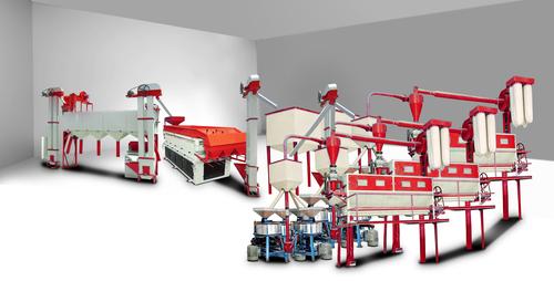 Atta Chakki Flour Mill Plant