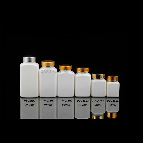 Oblong Shape HDPE Pharmaceutical Containers