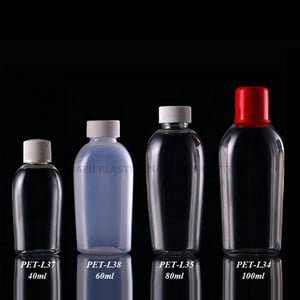 China Manufacturing PET Clear Plastic Bottle For Liquid