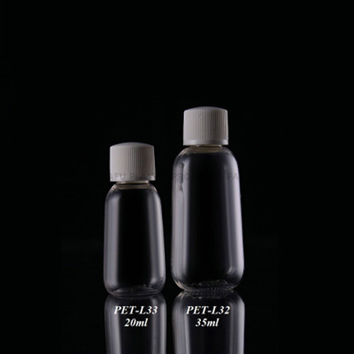 PET High Quality Clear Bottle